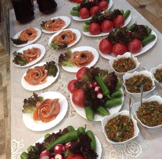 Ресторан Самовар - фотография 6 - На банкет