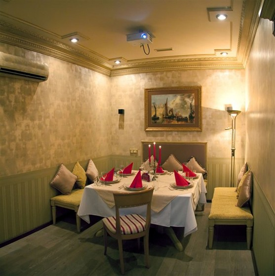 Ресторан Sochi - фотография 4 - VIP зал