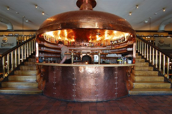 Ресторан Пилзнер - фотография 13 - Интерьер