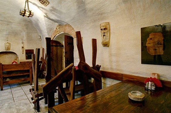 Ресторан Табурет - фотография 11 - Зал Друиды