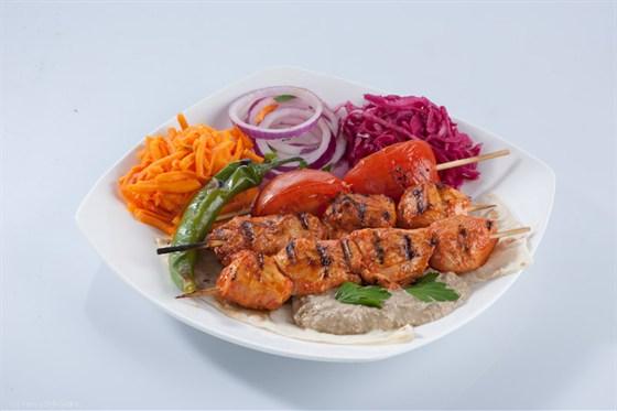 Ресторан Бардак - фотография 17 - Куриный шашлык