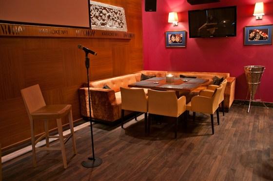 Ресторан Bamboo.Bar - фотография 29 - караоке