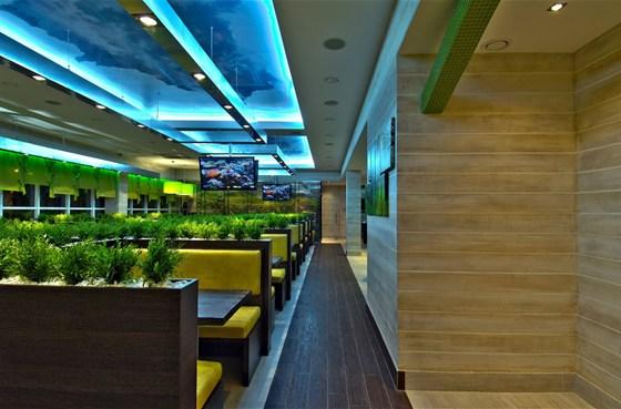 Ресторан Съел бы сам - фотография 4 - Изумительный эко-интрерьер в СъелБыСам