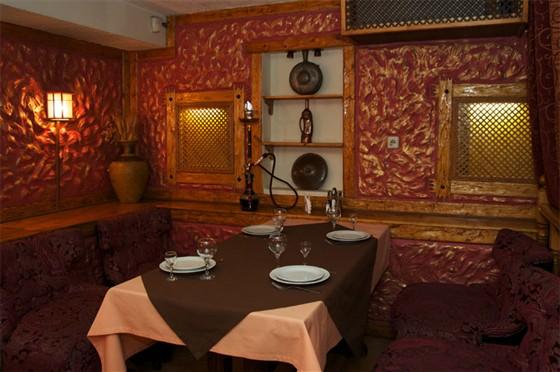 Ресторан Шарманка - фотография 6 - Кальянная комната