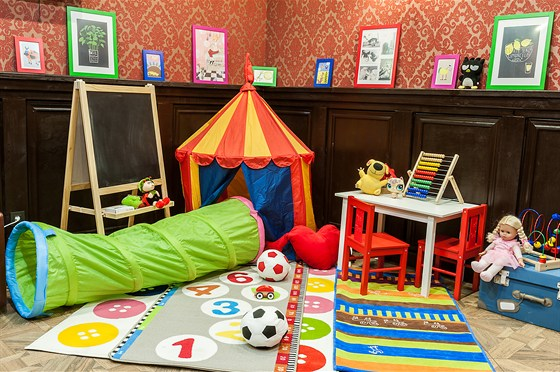 Ресторан Gabbiano - фотография 5 - детская комната