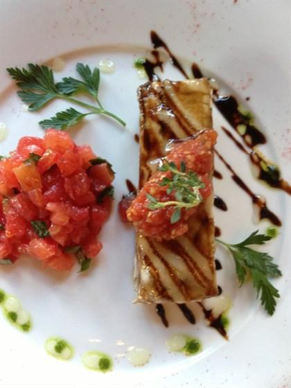 Ресторан Michel - фотография 4 - Киш из баклажан
