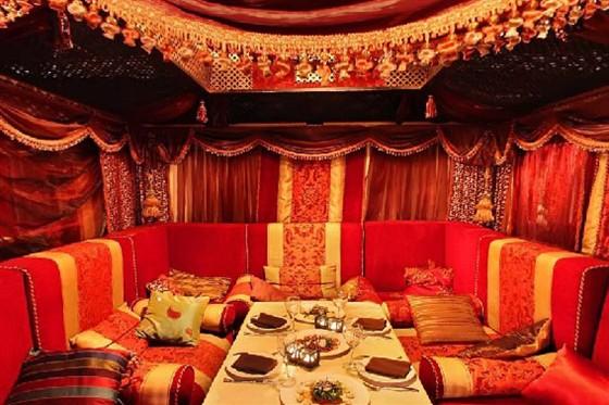 """Ресторан Марсель - фотография 8 - Зал """"Восток"""""""