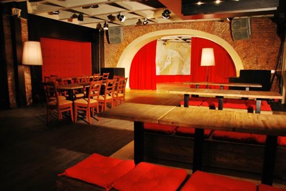 Ресторан Zavtra - фотография 4 - Это Концертный зал. Здесь проходят концерты и DJ-вечеринки.
