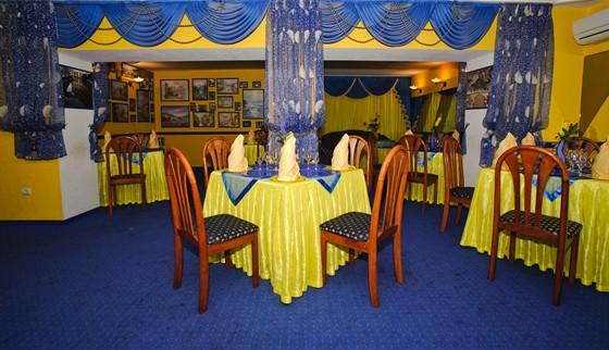 Ресторан Фантазия - фотография 3 - Итальянский зал идеально подходит не только для повседневного отдыха, но и для проведения банкетов. Средняя вместимость зала – до 40 гостей – идеально подойдет для громкого застолья. Кстати, меню нашего ресторана порадует Вас некоторыми итальянскими блюдами: ризотто с морепродуктами, закуска «Венецианская» и другие.