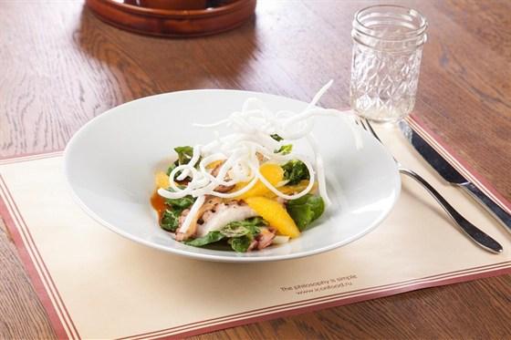 Ресторан Montalto - фотография 3 - Жаренный осьминог