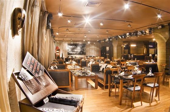 Ресторан Andreas - фотография 2 - Основной зал