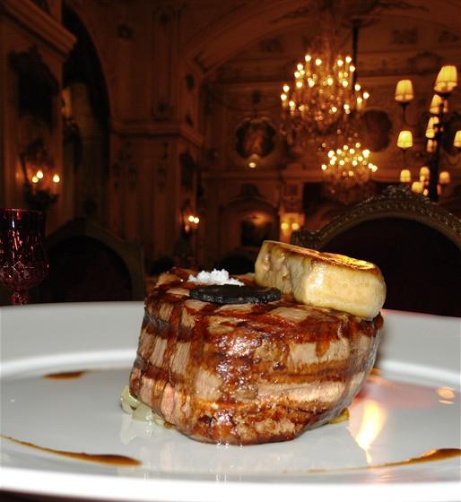 Ресторан The Most - фотография 11 - Стейк из Театрального меню