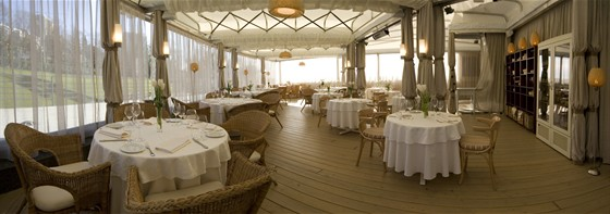 Ресторан La terrazza - фотография 10 - Терраса .