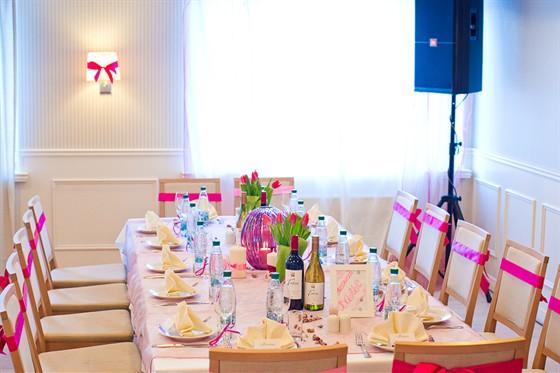 """Ресторан Sun Flower-парк - фотография 8 - Свадьба в розовых тонах - ресторан """"Катерина Парк"""" (м.Пражская)"""