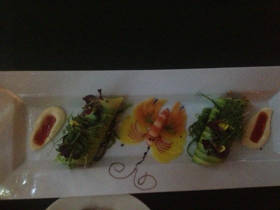 """Ресторан Пушкин - фотография 21 - Роллады изъ рыбъ морскихъ """"А-Ля Таръ Таръ"""""""
