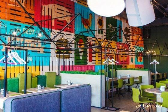 Ресторан Green Villa Pizza - фотография 10