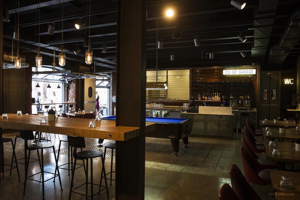 Ресторан Co-op Garage - фотография 3