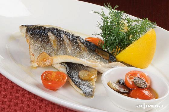 Ресторан Плотников  - фотография 12 - Филе сибаса на гриле