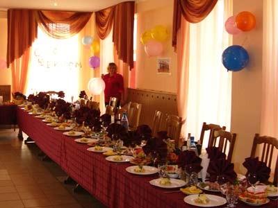 Ресторан Сябры - фотография 8 - Банкетный зал