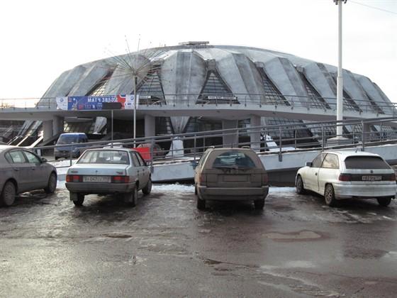 """Ресторан Сушишеф - фотография 10 - Вид на ресторан """"Сушишеф"""" с лужнецкой набережной"""