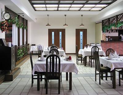 Ресторан Дунай - фотография 6 - Внутреннее оформление ресторана