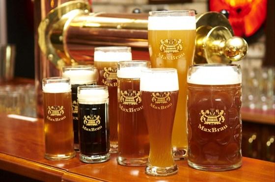 Ресторан Максимилианс - фотография 5 - Пиво