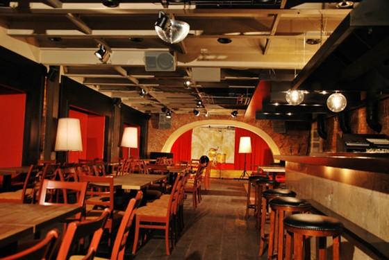 Ресторан Zavtra - фотография 5 - Концертный зал.