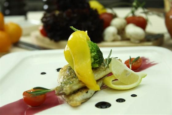 Ресторан La familia - фотография 44 - Мраморный окунь