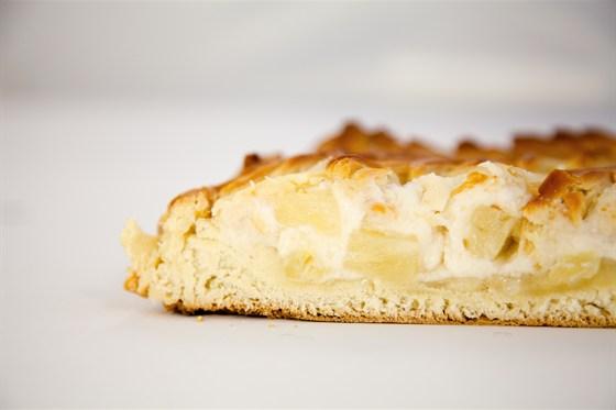 Ресторан Ешь пирог - фотография 2 - Пирог с творогом и ананасом