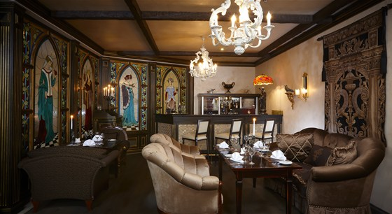 Ресторан Visconti - фотография 3 - Cigar lounge Visconti