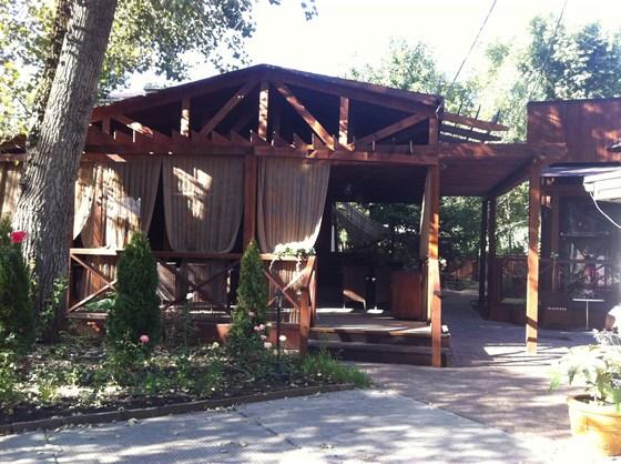 Ресторан Зеленый попугай - фотография 1 - летняя площадка