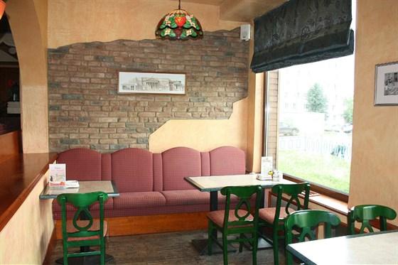Ресторан Мир пиццы - фотография 4 - Просторные панорамные балконы.