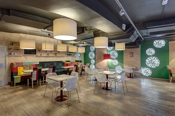 Ресторан Гусь в яблоках - фотография 4 - Второй зал