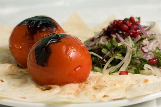 Ресторан Жажда вкуса - фотография 5 - Шашлык из помидор