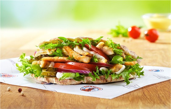 Ресторан Shawarma Republic - фотография 1 - Шаварма в пите