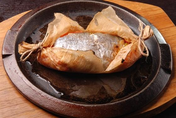 Ресторан Дубинин - фотография 12 - Рыба по-мароккански
