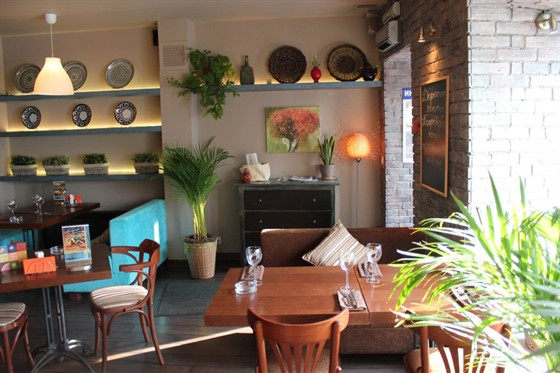 "Ресторан Шердор - фотография 1 - Кафе ""Шердор"", уютный интерьер!"