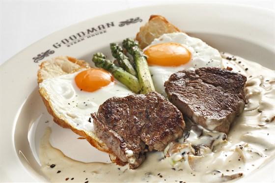 Ресторан Goodman - фотография 2 - завтрак в GOODMAN