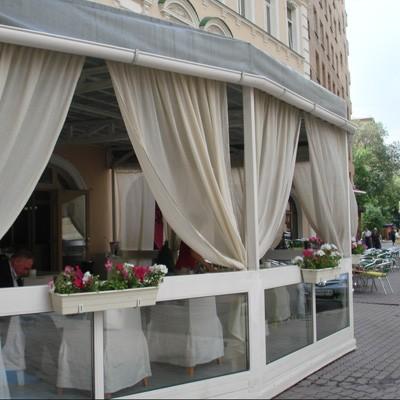 Ресторан Mi piace - фотография 7 - Летняя веранда.