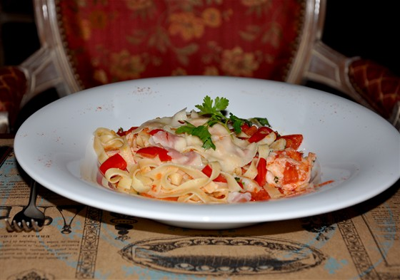 Ресторан Michel - фотография 20 - Паста с морепродуктами