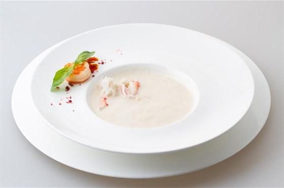 Ресторан Le restaurant - фотография 14 - Раковый крем-суп
