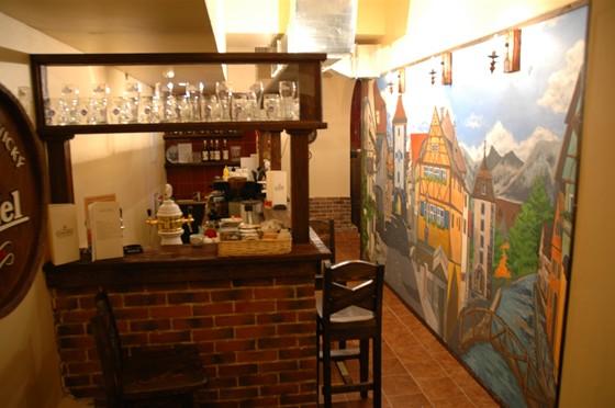 Ресторан Альтмюллер-хаус - фотография 3 - Бар