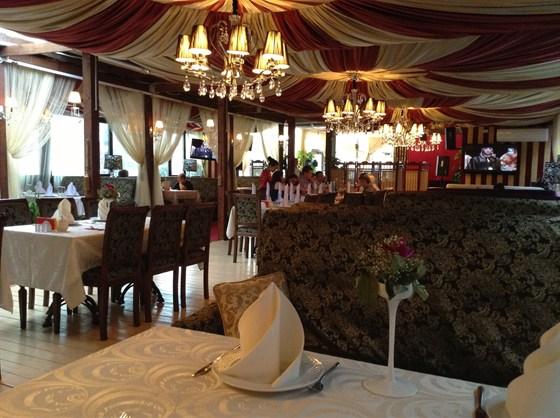 Ресторан Золотой бамбук - фотография 1 - Интерьер