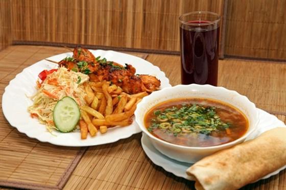 Ресторан Бейрут  - фотография 23 - Вот такой бизнес-ланч всего за 240 руб!