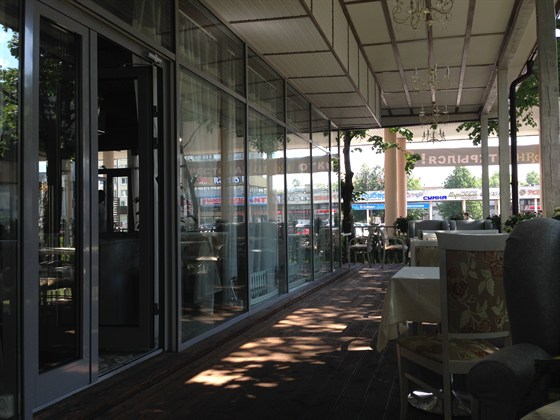 Ресторан Тимьян - фотография 2 - Веранда ресторана