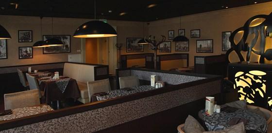Ресторан Mascotte - фотография 7 - Интерьер кафе