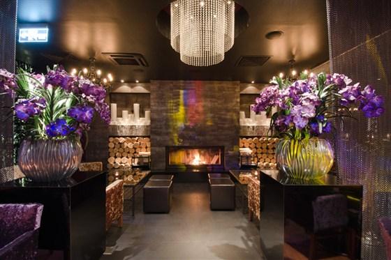 Ресторан Columbus Lounge - фотография 2 - Каминная зона