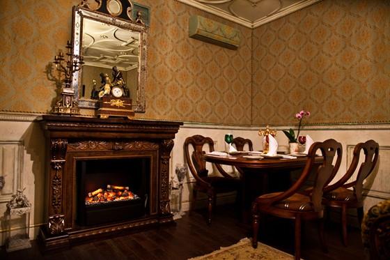 Ресторан Gotinaza - фотография 10 - VIP-кабинет