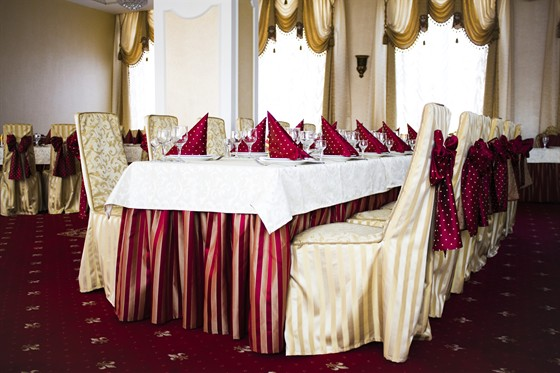Ресторан Дюшес - фотография 7 - Банкетный зал