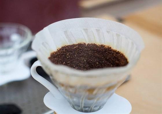 Ресторан Черный - фотография 1 - Дрип-кофе - харио V60